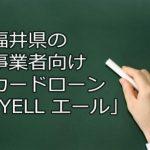 事業者向けカードローン,福井